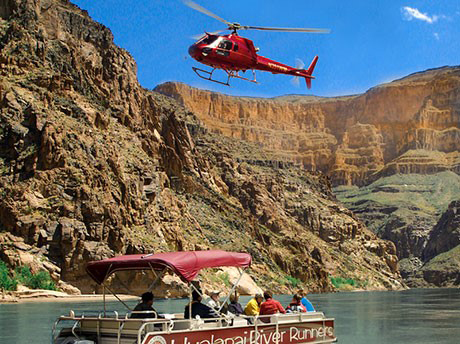 bottom canyon grand to Helicopter