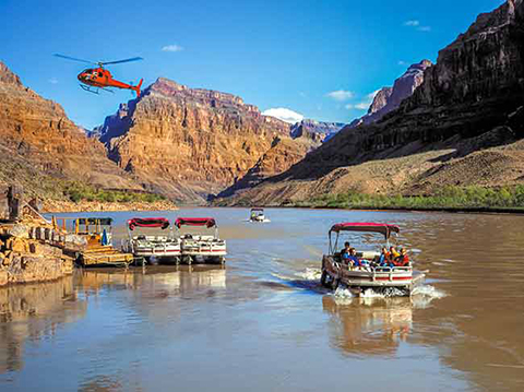 Grand Canyon West Rim Bus Heli Amp Boat From Vegas