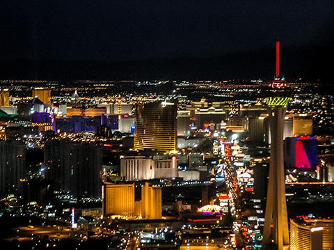 Las Vegas Helicopter Night Flight